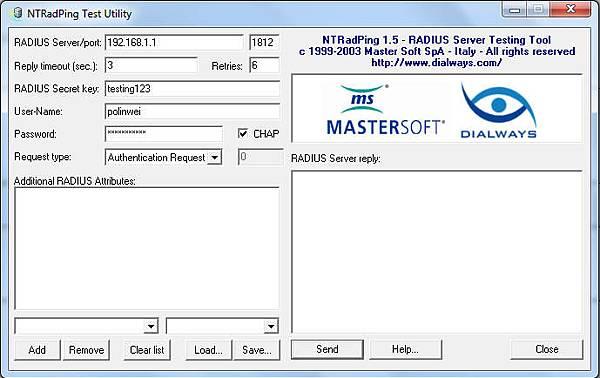 Setup and Configuration of FreeRadius + MySql on Windows 7