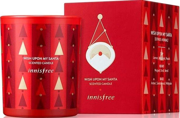 innisfree綠色聖誕心願滿滿聖誕老人香氛蠟燭$600.jpg
