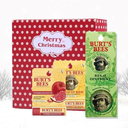 Burt's Bees蜂蠟護唇膏+石榴保濕滋潤唇膏+神奇紫草霜599.jpg