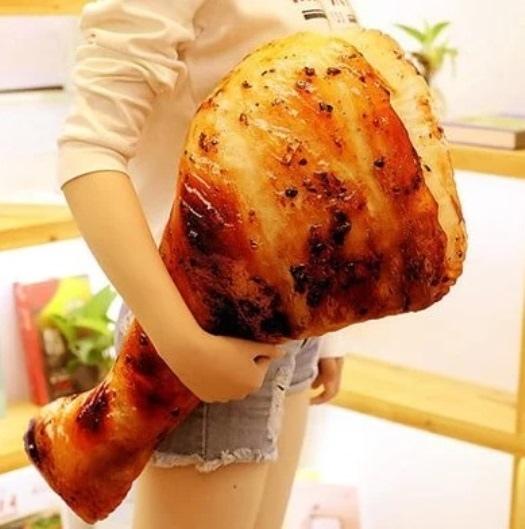 狠逼真烤魚海鮮食物抱枕550.jpg