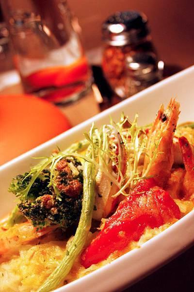 焗烤地中海海鮮燉飯2