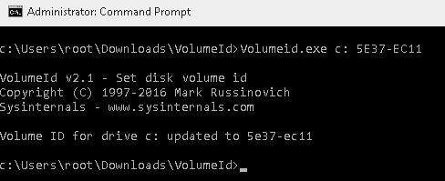 cmd_volume_id