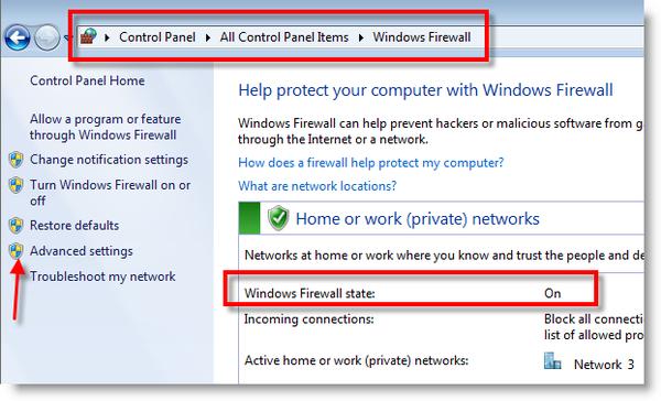 enable windows 7