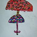 學習單:雨傘設計~雙層偵探雨傘