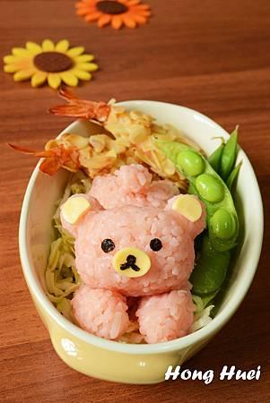 粉紅彩米拉拉熊野餐篇.JPG