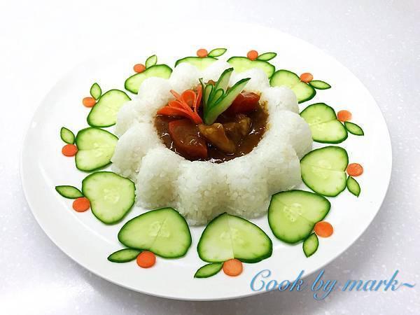 咖哩越光米飯
