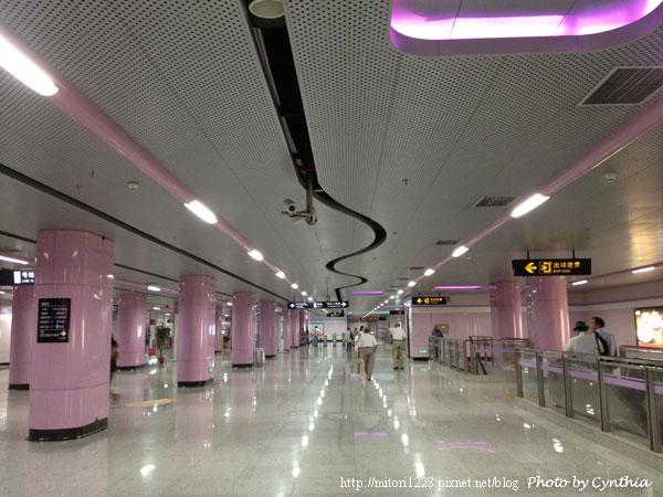 新線路的地鐵站