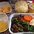 東方航空的餐點