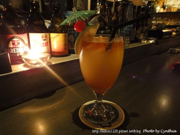 墾丁鹿角-調酒1