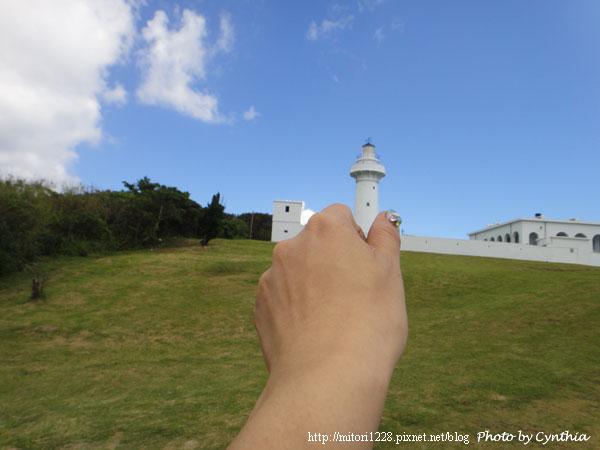 鵝鸞鼻燈塔-無聊自拍照1