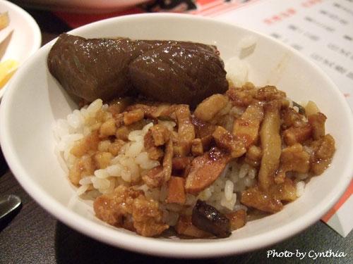 滷肉飯+麻辣鴨血
