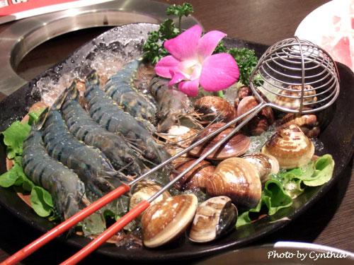 鮮蝦蛤蜊鍋