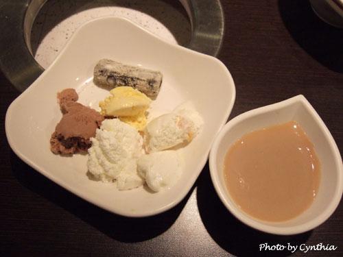 冰淇淋+黑糖凍