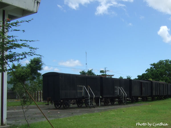 廢棄的糖廠貨車
