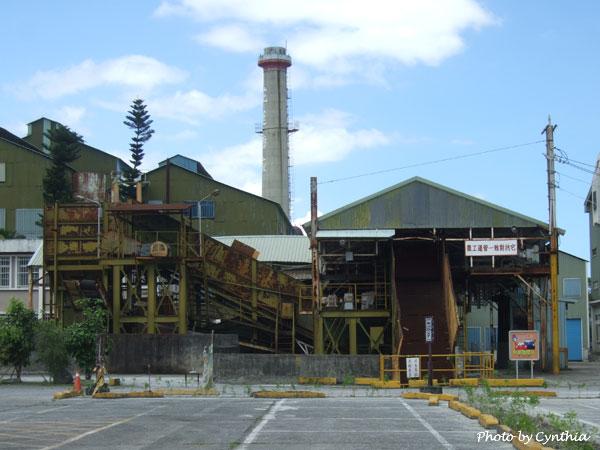 廢棄的糖廠廠房