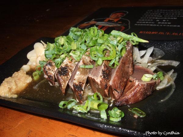 稻燒鰹魚生魚片