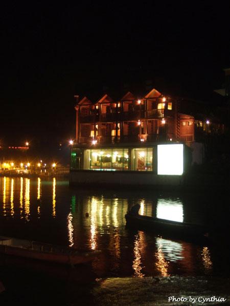儷山林哲園會館夜景