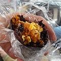 劉媽媽飯糰-海陸總匯飯糰(紫米)