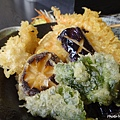 澤の料理-天丼定食近拍