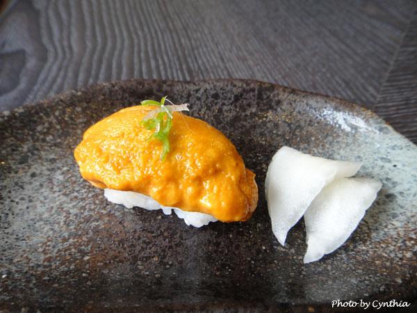 澤の料理-海膽握壽司