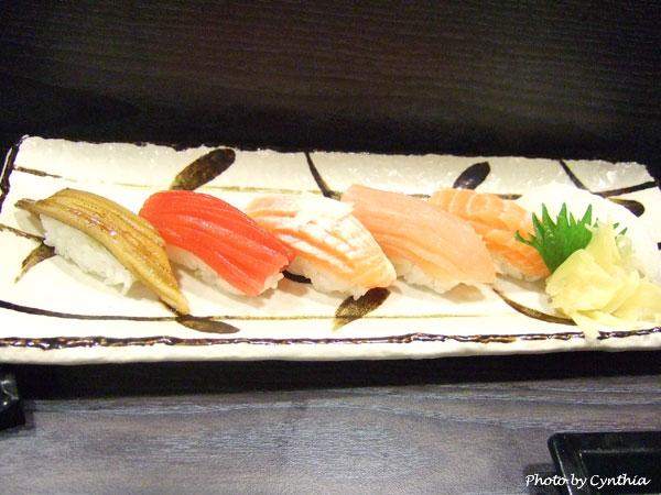 澤の料理-綜合握壽司2