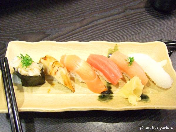 澤の料理-綜合握壽司3