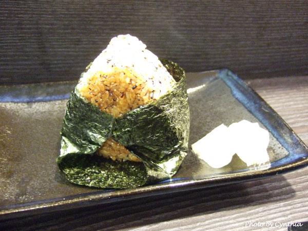 澤の料理-烤飯糰