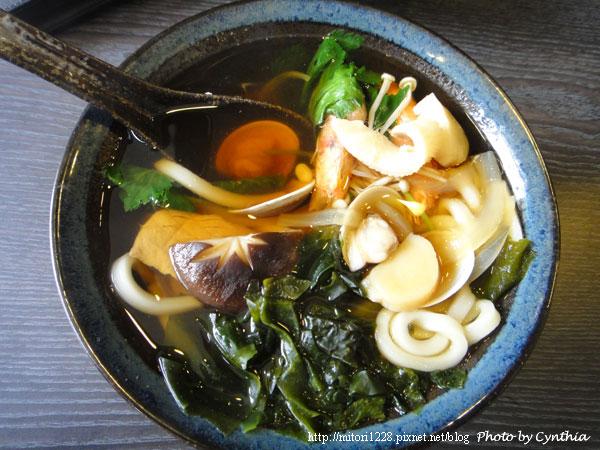 澤の料理-海鮮湯烏龍
