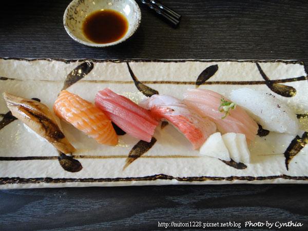 澤の料理-綜合握壽司之4