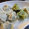 牛寶牛肉麵-酸菜水餃、韭菜水餃
