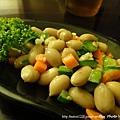 牛寶牛肉麵-小菜:涼拌花生