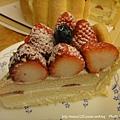 棒棒糖手工點心-草莓蛋糕切片