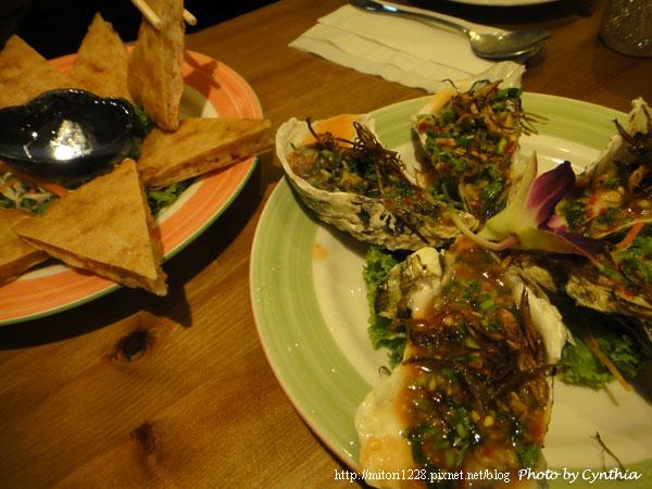 墾丁弄海-烤生蠔與月亮蝦餅