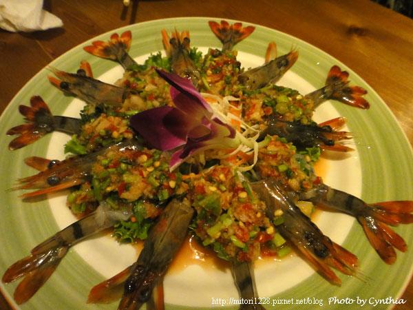 墾丁弄海-檸檬生蝦