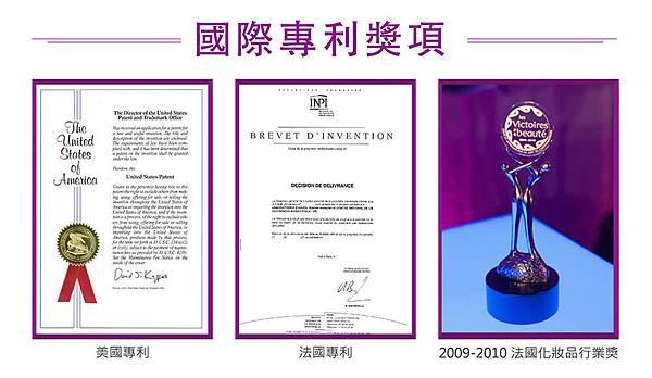 各國際專利獎項