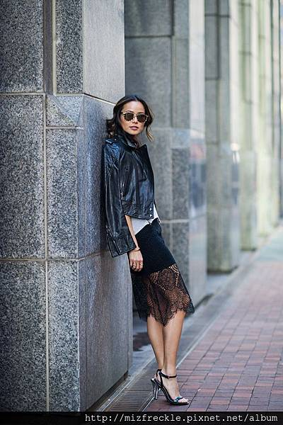 leather-jacket-and-lace-dress