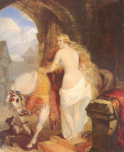 Marshall Claxton-Lady_Godiva_1850