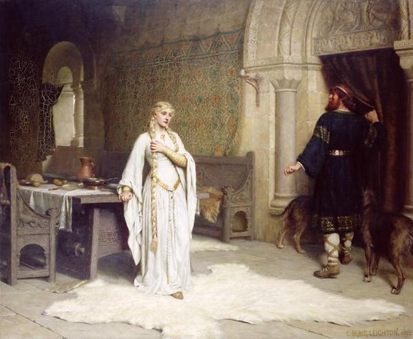Lady Godiva-Edmund Blair Leighton-1892