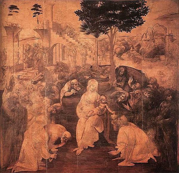 Leonardo da Vinci-_Adoration of the Magi