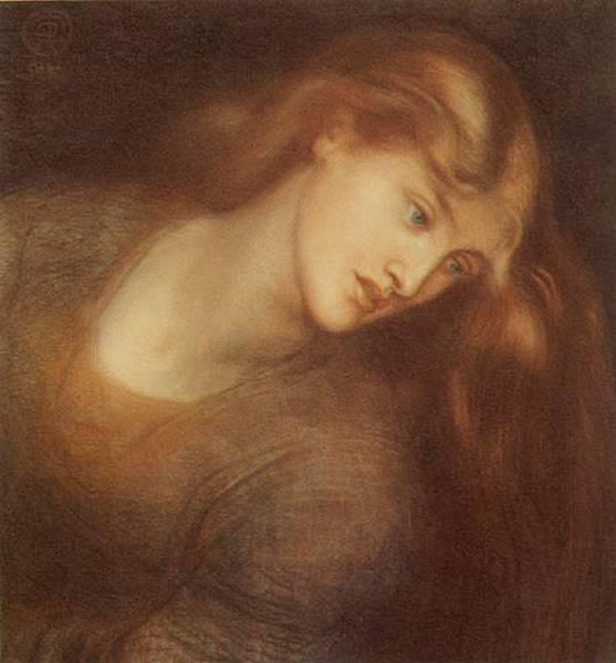 Rossetti - Aspecta Medusa 1867