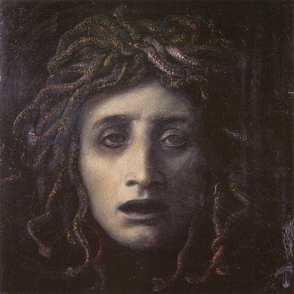Medusa by Arnold Böcklin, circa 1878