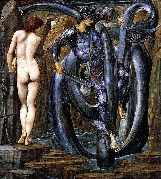 Edward_Burne-Jones_-_Perseus Cycle 7-The Doom Fulfilled 1888