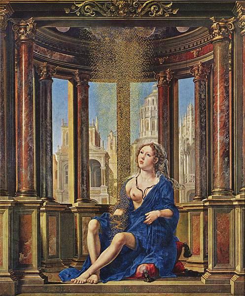 Jan Gossaert, Danaë, c. 1527