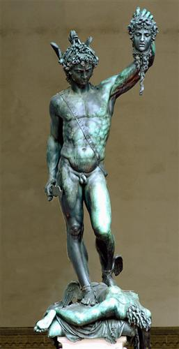 perseus-with-the-head-of-medusa-1545-Benvenuto Cellini