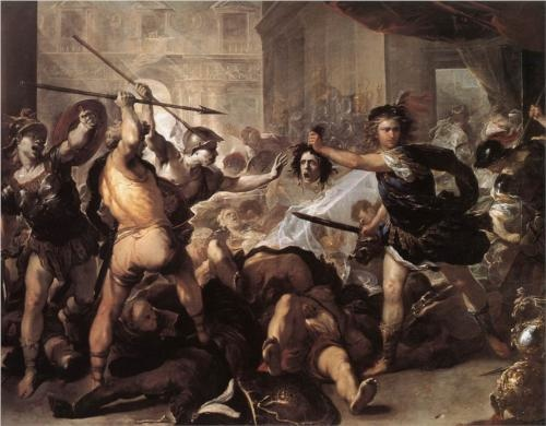 perseus-fighting-phineas-and-his-companions- Luca Giordano