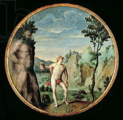 Perseus Turning Atlas to Stone by Gillis Cognet