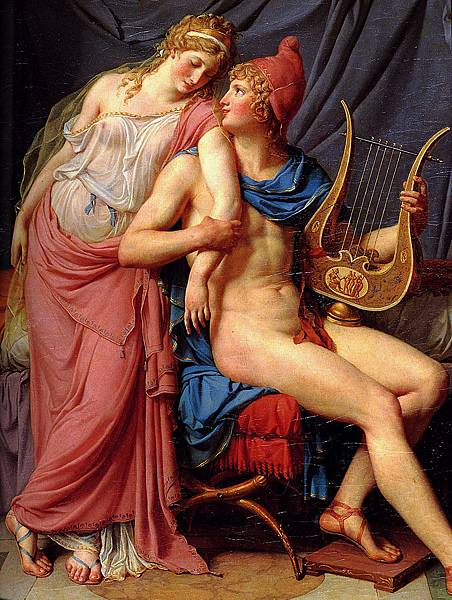 Paris and Helen by Jacques-Louis David 1788.jpg
