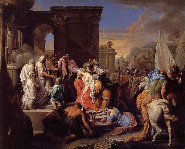 the sacrifice of Iphigenia-Pompeo Batoni - circa 1740-1742.jpg