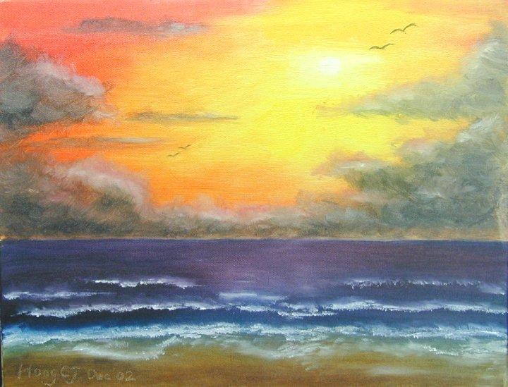 黃昏的海邊.jpg