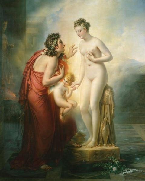 Pygmalion et Galatee, 1819,Anne-Louis Girodet-Trioson.jpg